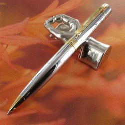 "Stylo Bille Sheaffer® ""Serie 300"" Chrome et Doré"