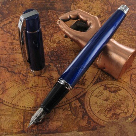 "Stylo Plume Fine Sheaffer® ""Serie 300"" Laque bleue"