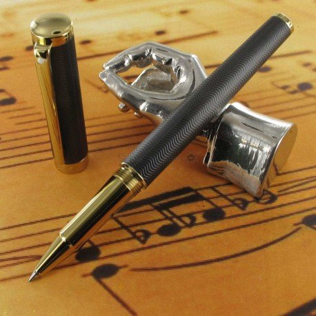 "Stylo Roller Sheaffer® ""Intensity"" Noir Pointe Diamant"