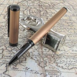 "Stylo Roller Sheaffer® ""Intensity"" Torsade Bronze"